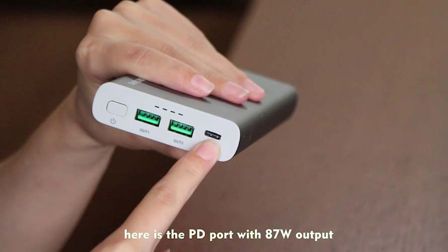 Phone Power Bank & Fast Charging Power Bank YN-045P Application Video