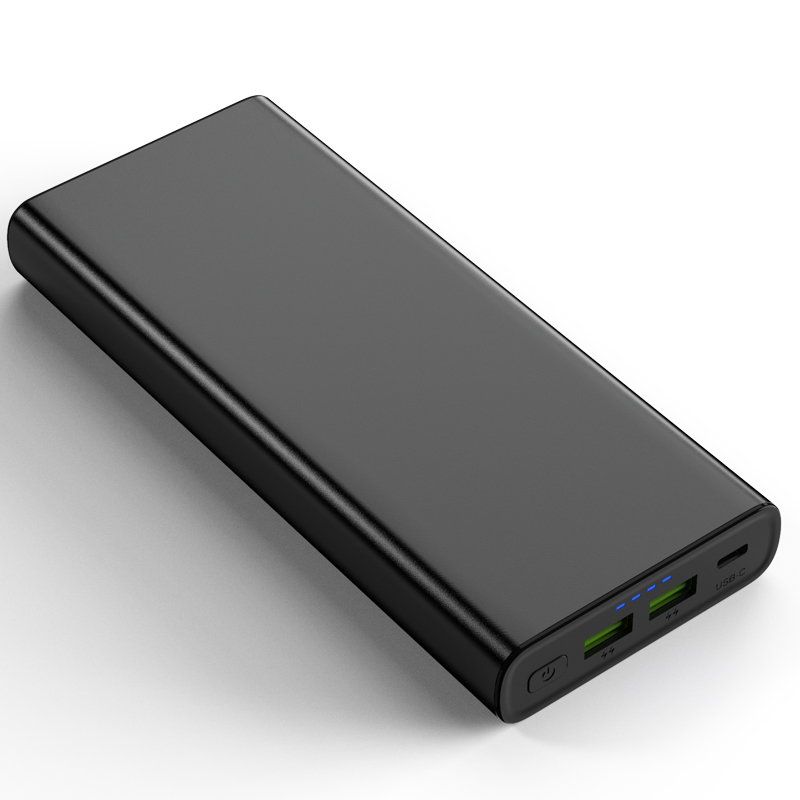 YN-045P 100W laptop power bank 26800mAh Double USB Type-C PD power bank for cell phone