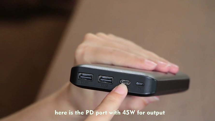 Portable Power Bank & iPhone Power Bank YN-035P Application Video