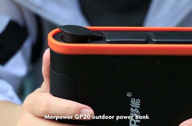 Rechargeable Portable Power Supply & Portable Battery Box GP20 Application Video