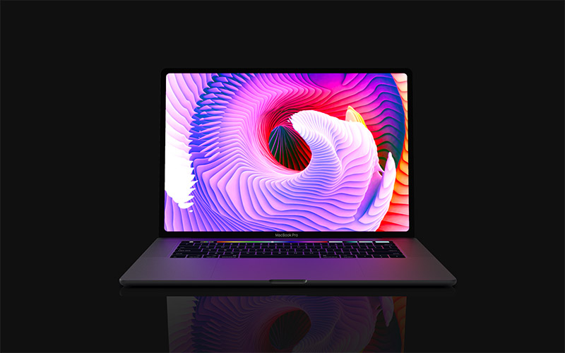 16-inch MacBook Pro with 6 USB-C ports