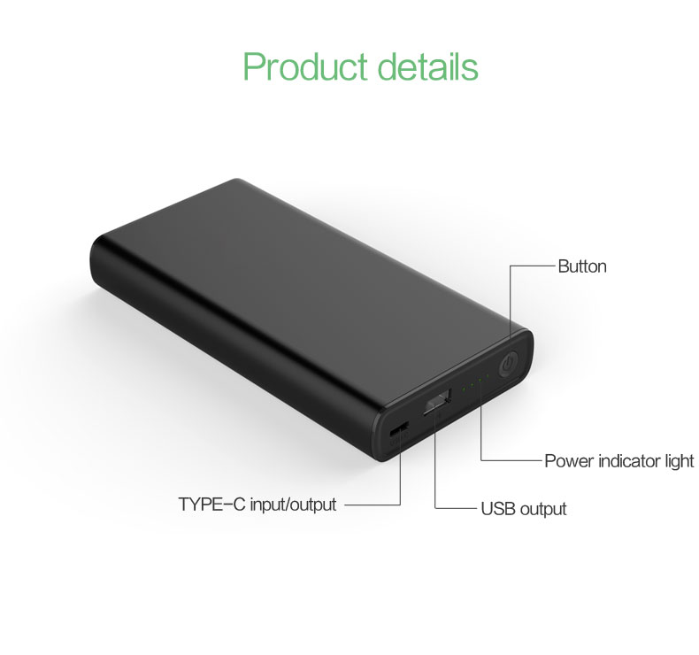 65w usb c pd power bank YN-039P details (1)