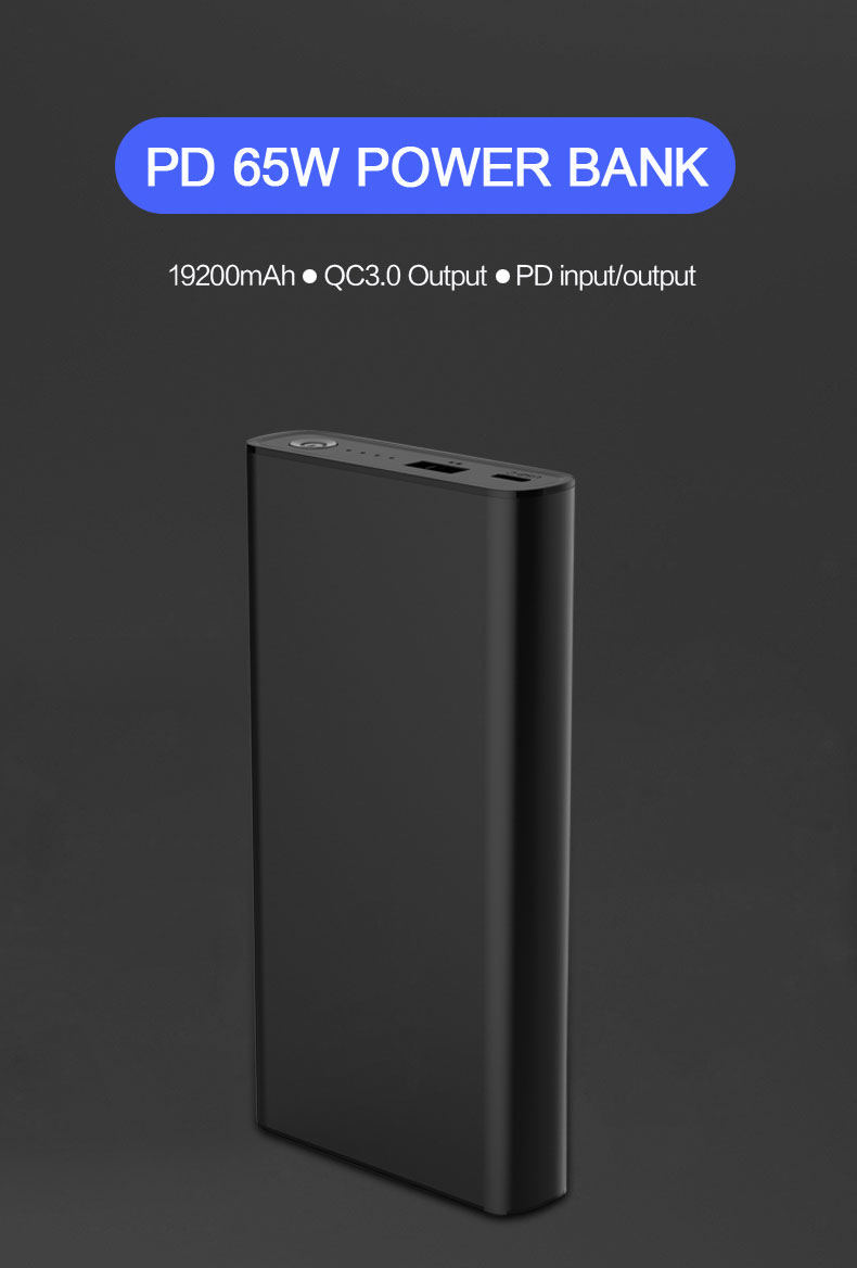 65w usb c pd power bank YN-039P details (2)