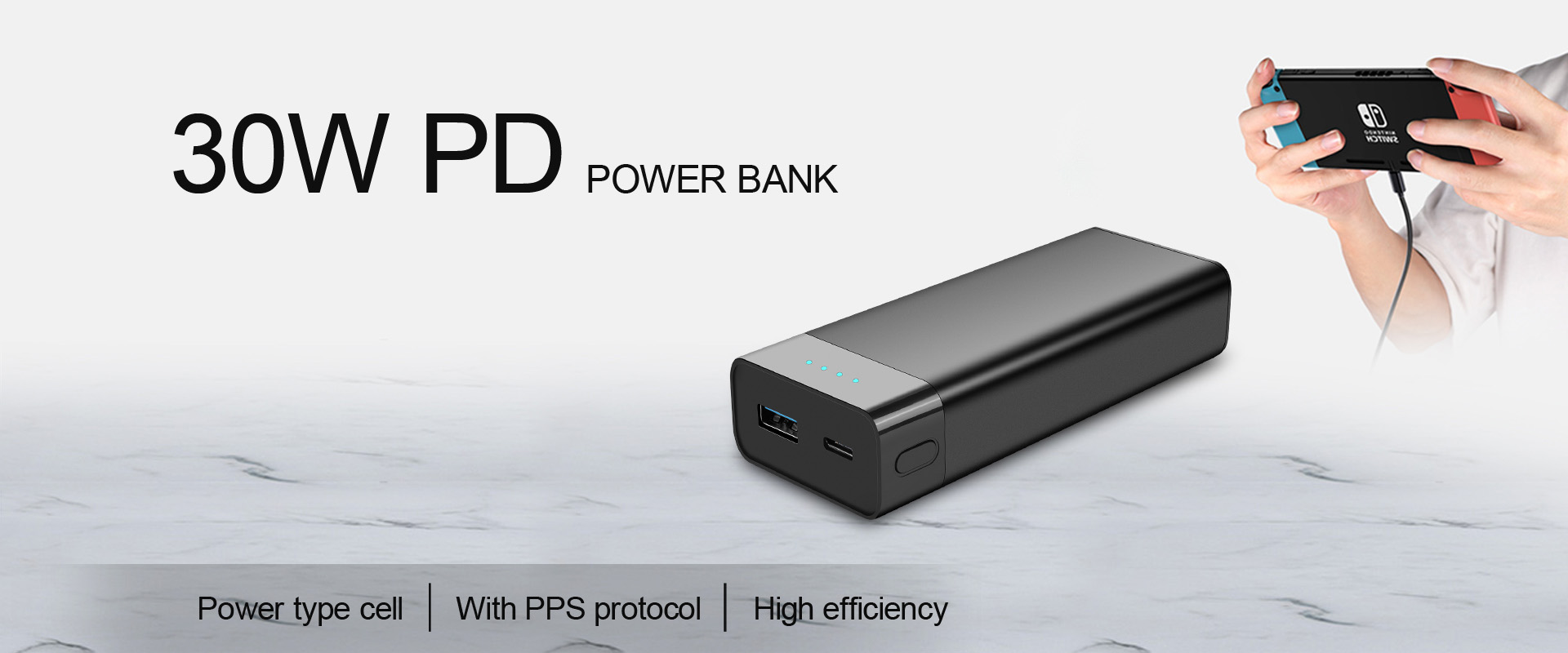 30w pd power bank
