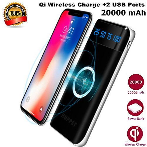 iPhone X Wireless Charger Power Bank