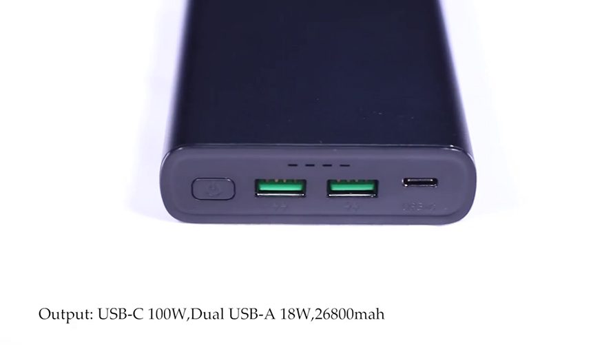 PD 100W 26800mah power bank for laptops and mobilephones YN-045P